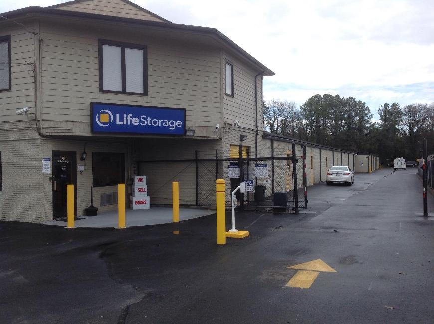 Storage Buildings At Life Storage At 1210 Bentley Street In Richmond ...