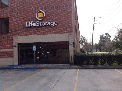 Storage buildings at Life Storage at 1950 W Lake Houston Pkwy in Kingwood