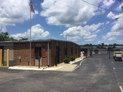 Storage buildings at Life Storage at 364 W Main St in Hendersonville