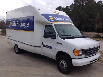 Truck rental available at Life Storage at 802 E. Richey Rd in Houston