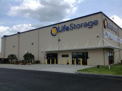 Storage buildings at Life Storage at 2465 Palm Bay Road NE in Palm Bay