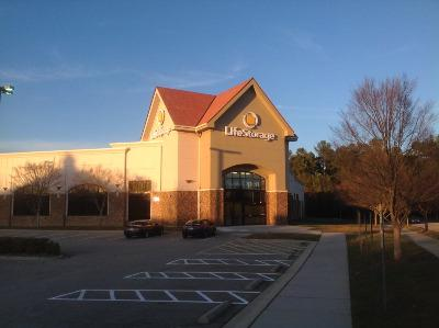 Life Storage Buildings at 6401 Town Center Drive in Raleigh