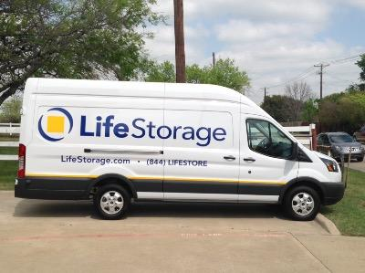 Truck rental available at Life Storage at 1105 N Little School Rd in Arlington