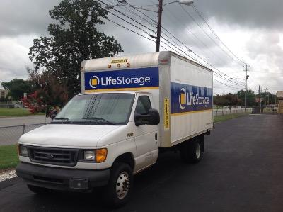 Truck rental available at Life Storage at 1201 Coliseum Blvd in Montgomery