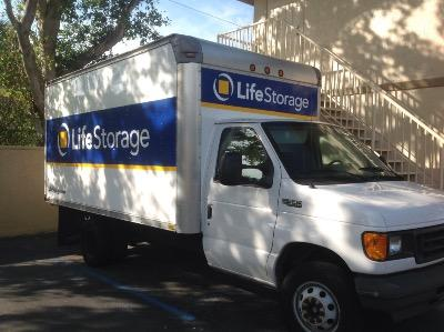 Truck rental available at Life Storage at 3770 Lantana Road in Lantana