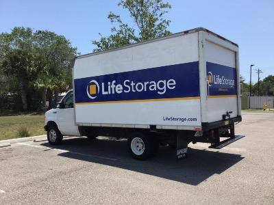 Truck rental available at Life Storage at 1347 N Tamiami Trl in North Fort Myers