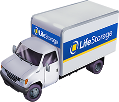 Life Storage Truck Illustration