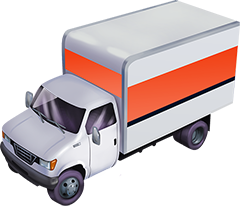 Competitor Truck Illustration