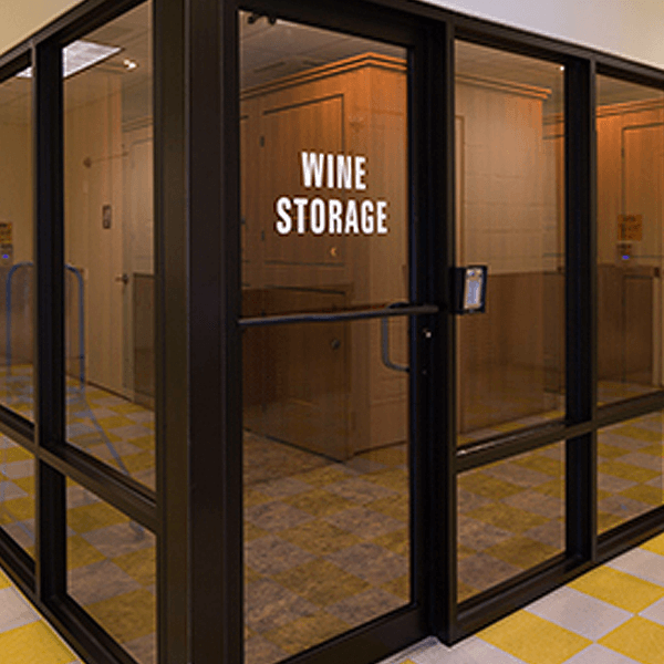 First Wine Storage