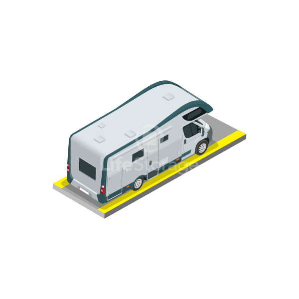 10' x 30' Outdoor RV Parking at Life Storage