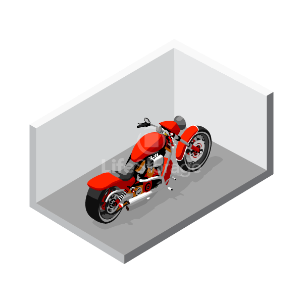 Motorcycle Storage at Life Storage