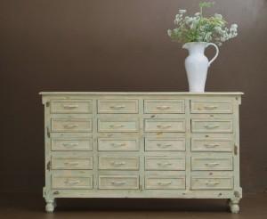 Classic wooden dresser