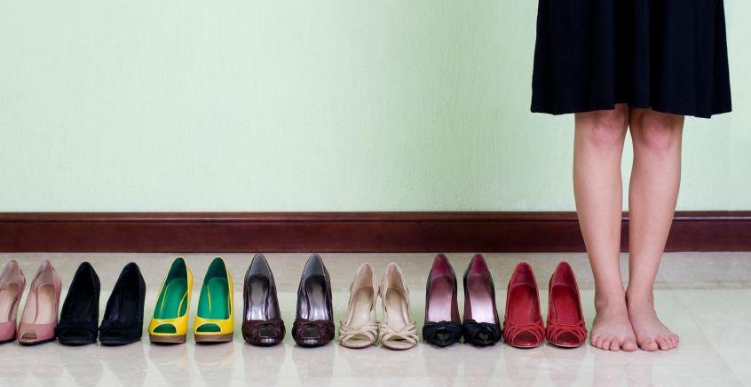 shoe storage techniques