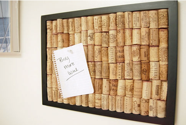 wine cork repurposing