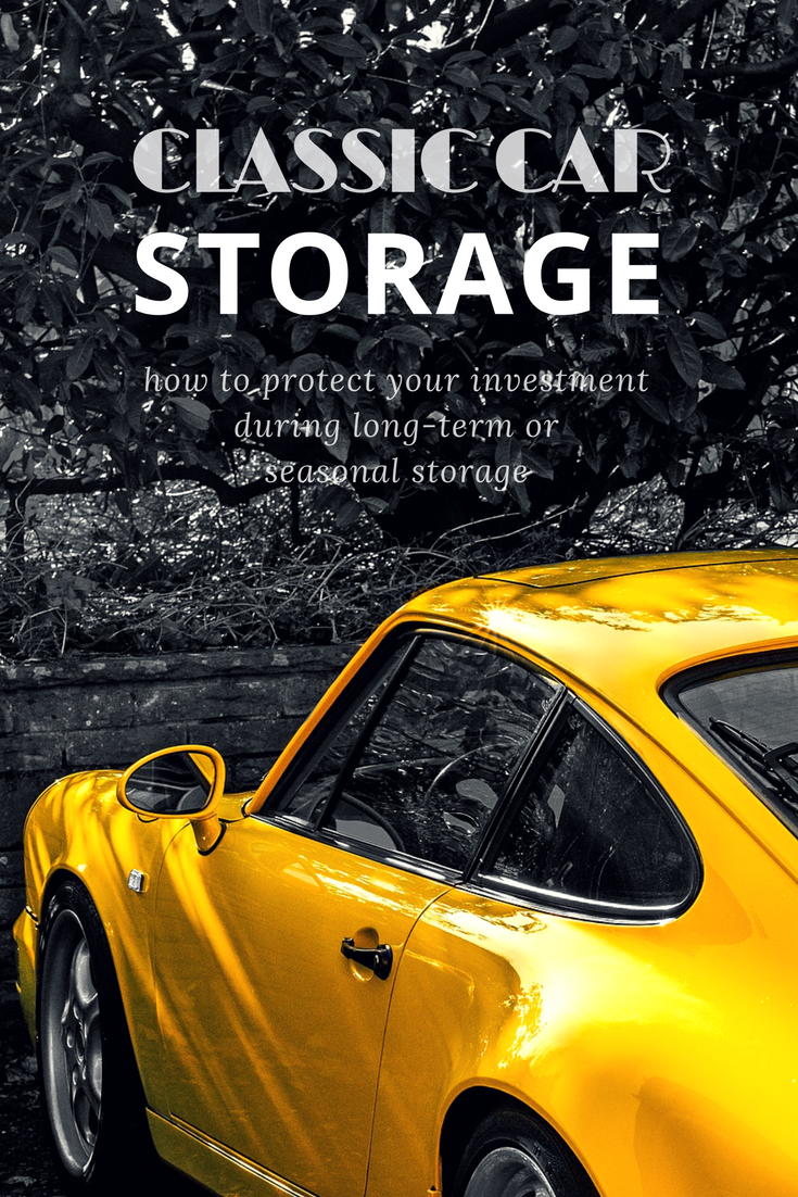 How to Store a Classic Car for Long Term Storage
