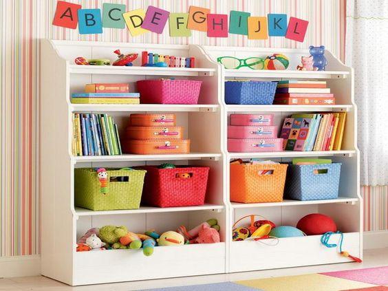 Organizing Kids Toys Using Storage