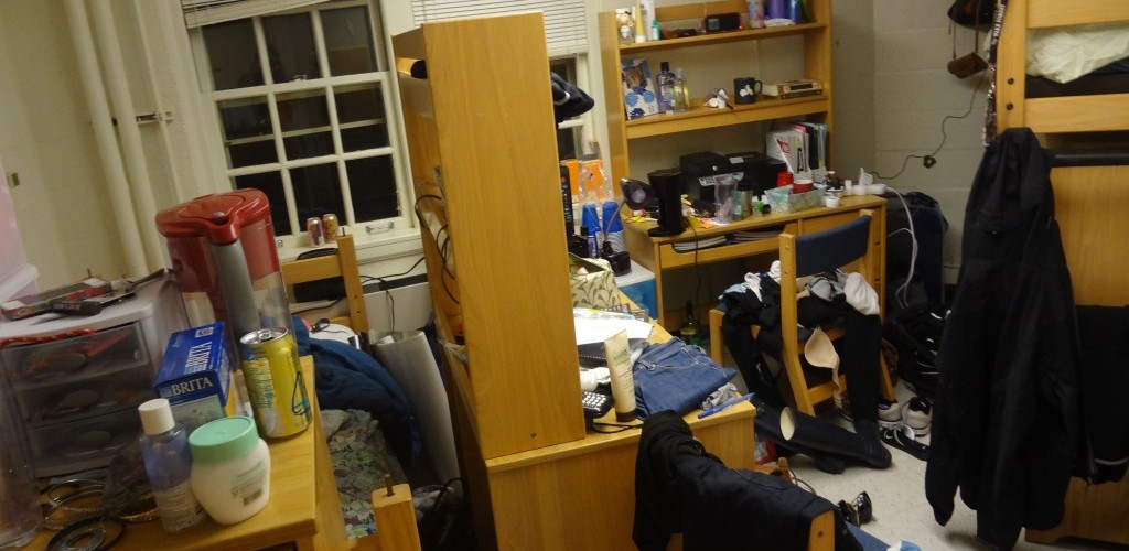 Messy roommate? Read on.