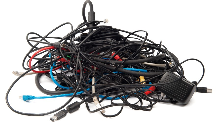 Electronics Cables And Wires : How to organize everything electronic in your home