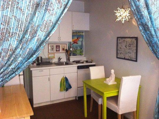 studio - kitchenette