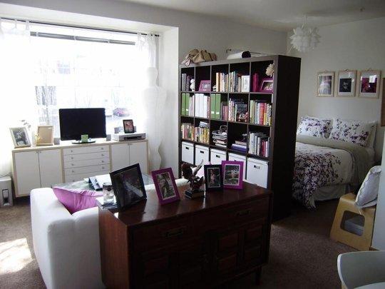 Studio   Shelf Divider. Via Apartment Therapy