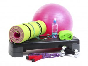 Organize fitness items