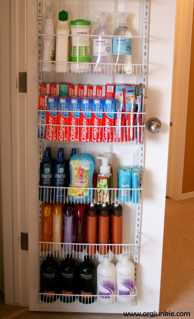 add adjustable shelving to a linen closet - Linen Closet