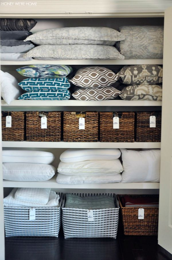 Good How To Organize And Store Stuff In A Linen Closet