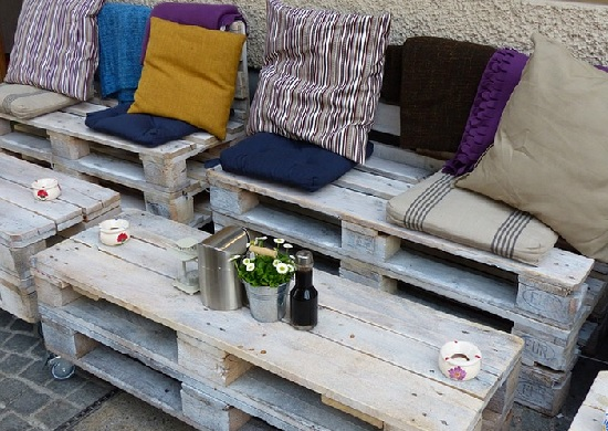 Patio space pallet