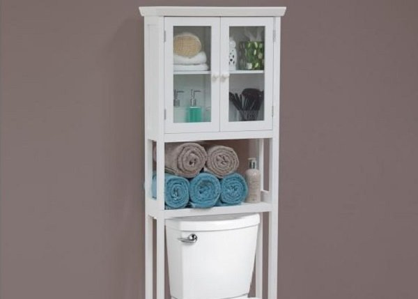toilet storage. 10 Small Bathroom Ideas That Will Change Your Life