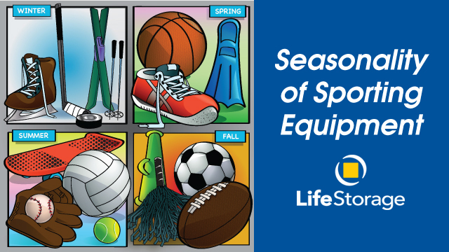 Seasonal sports how to store and maintain equipment