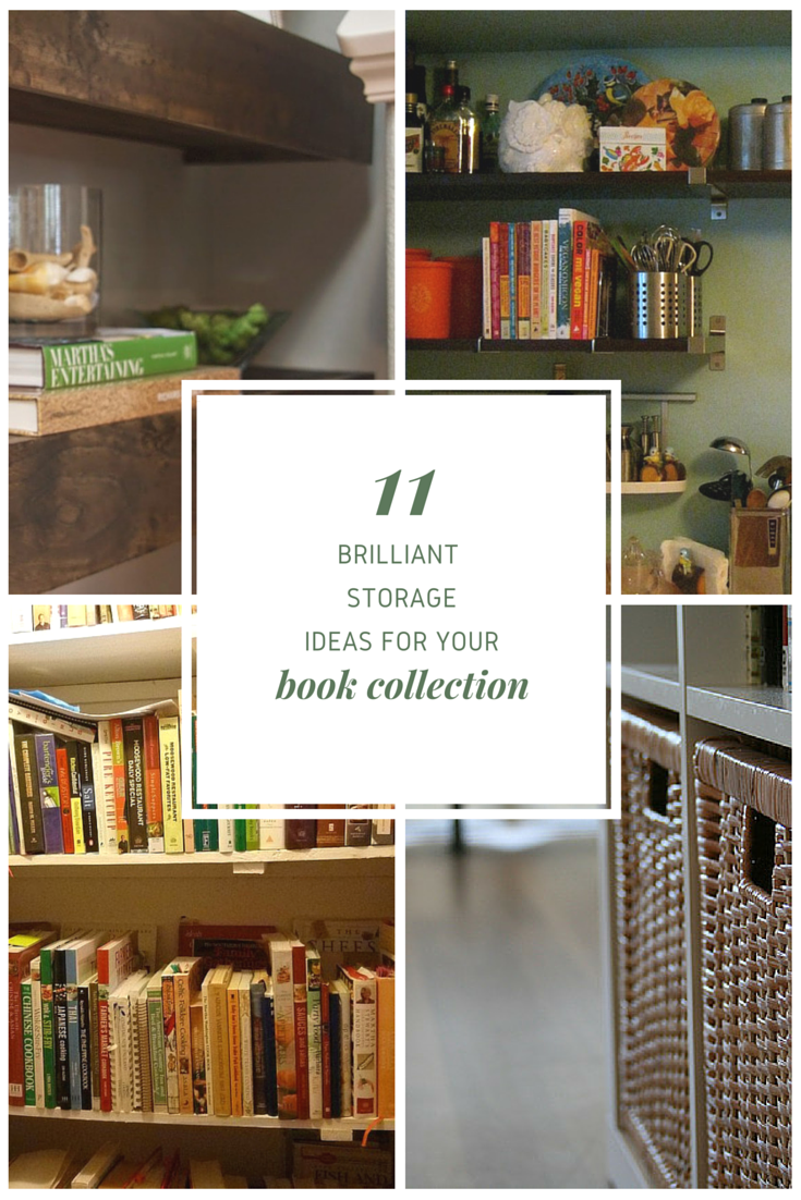 11 Brilliant Book Storage Ideas That\'ll Make You Toss Your Kindle