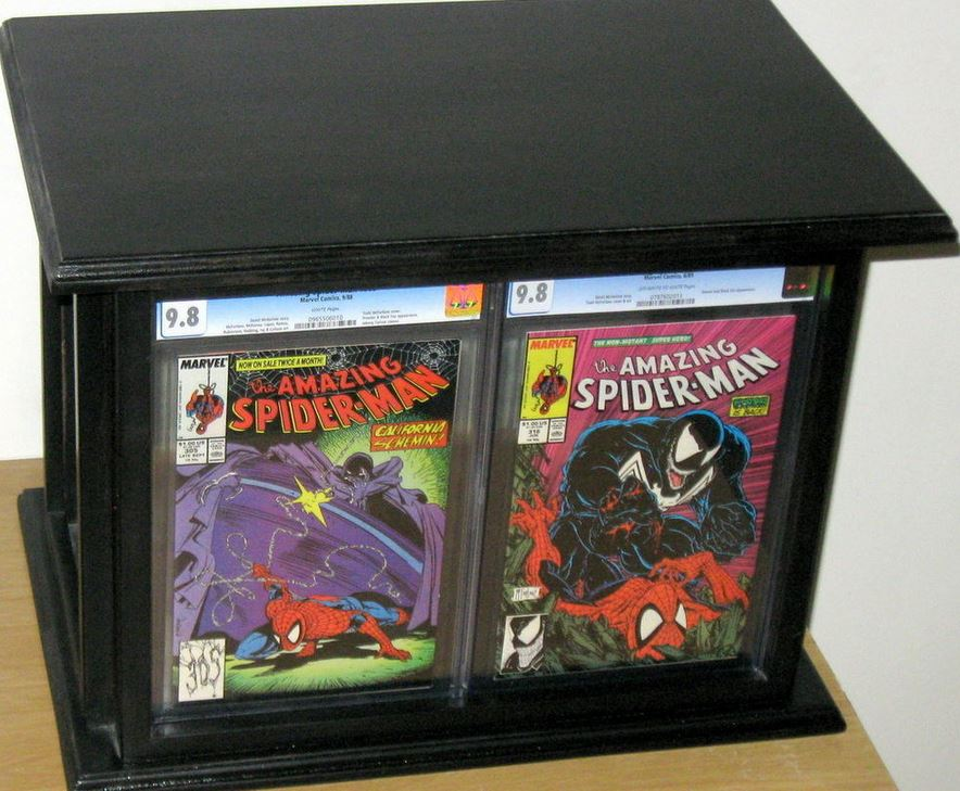 comic books and magazines how to organize display and store
