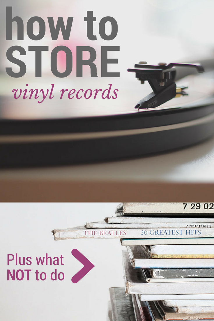 how to store vinyl records plus what not to do - record storage best practices