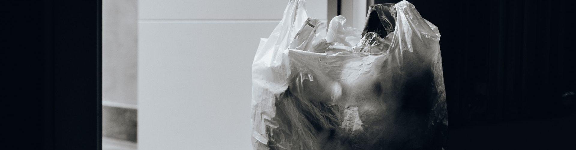 Things to Get Rid of - Trash Bag By Door