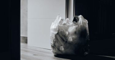 Things to Get Rid of - Trash Bag By Door