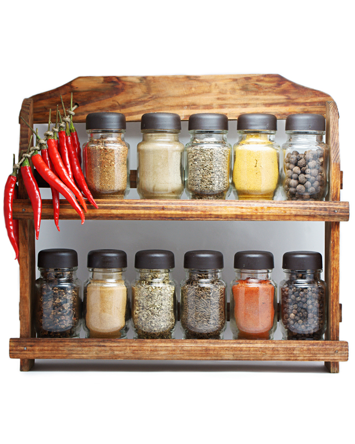 Organize Your Spice Rack, Get Rid of Unused Spices