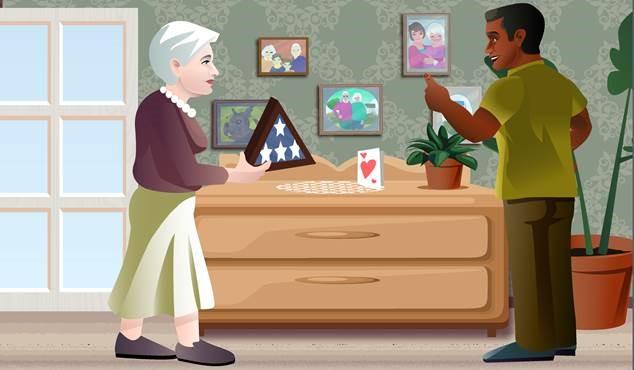 keeping valuables safe in eldercare