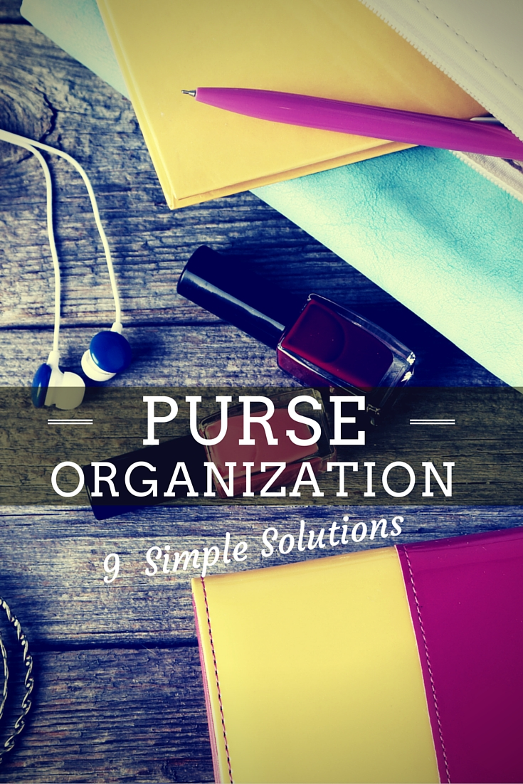 Purse organization skills essential for decluttering your handbag.