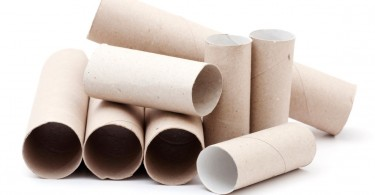 Upcycle Paper Towel Rolls