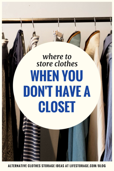 If You Dont Have A Closet Read This Where To Store Clothes