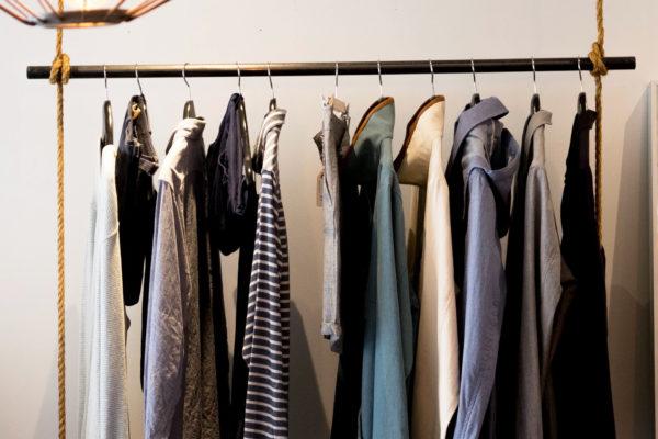 No Closet Clothing Storage