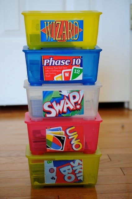 Playing Cards Storage