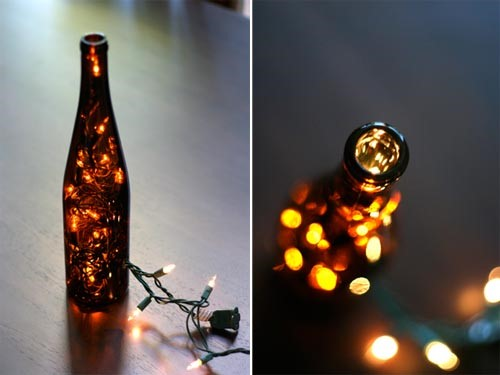 Upcycled Wine Bottled