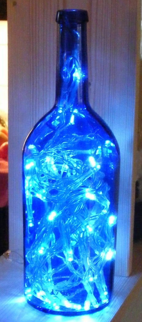 Make a LED Light from a Bottle