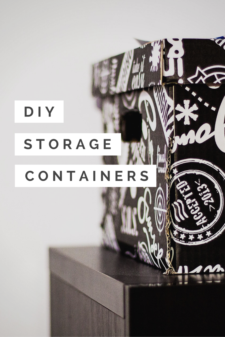 DIY Storage Containers You Can Repurpose and Make Yourself