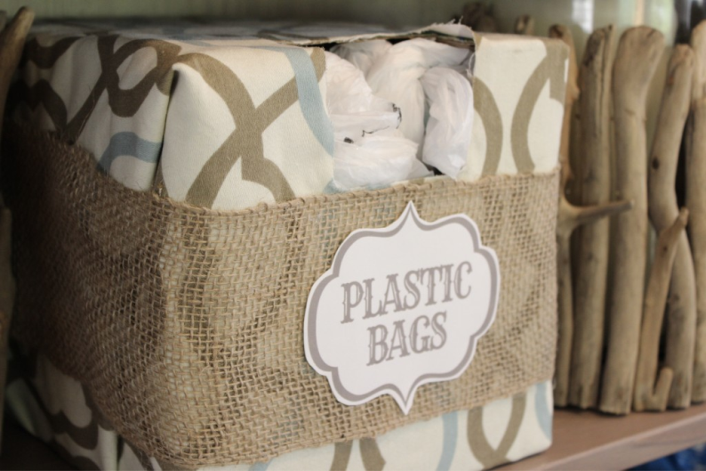 Organize Your Plastic Bags