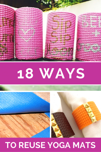 How To Repurpose a Yoga Mat