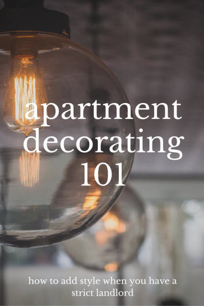 How to decorate an apartment