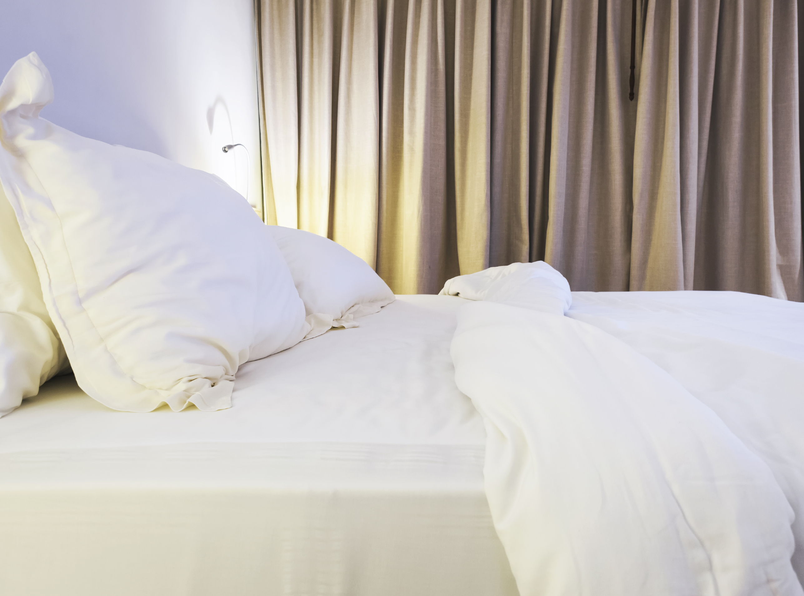 Make sure you replace your mattress and clean your bed regularly to avoid allergens in your home.