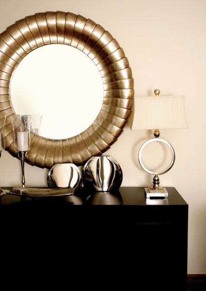 how to stage your home with hall mirrors